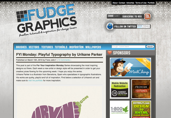 Interview With Franz Jeitz of Fudge Graphics
